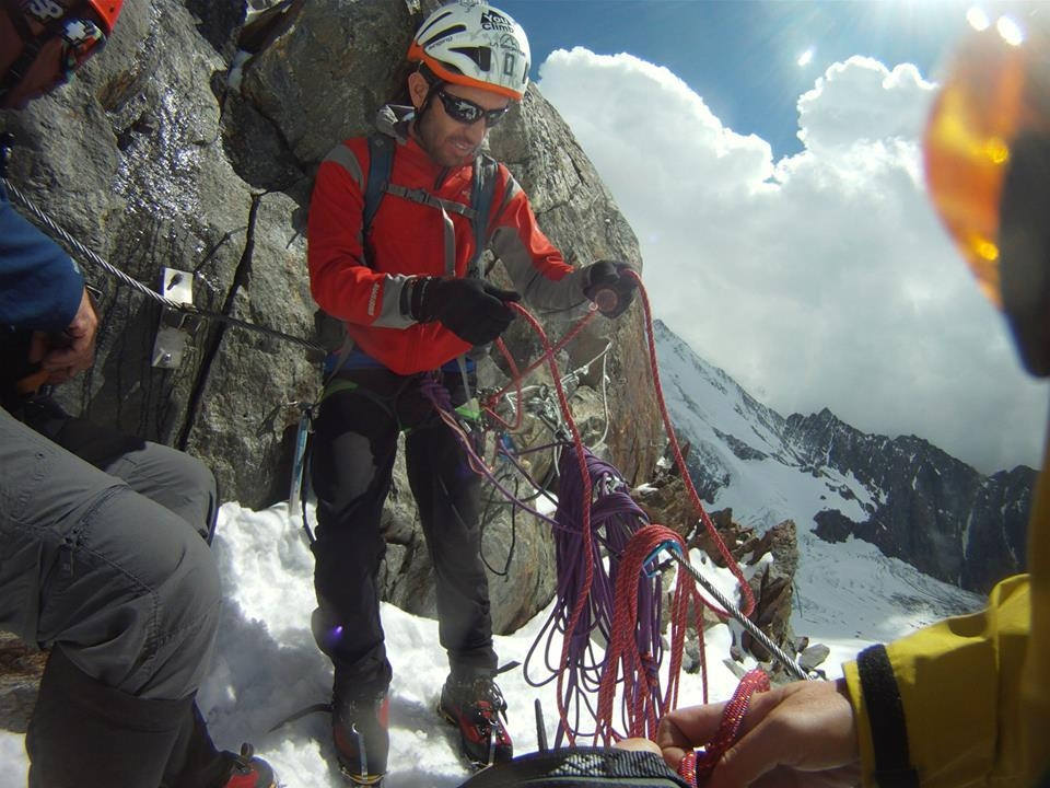 A picture from Mont Blanc du Tacul by Anderson Gouveia