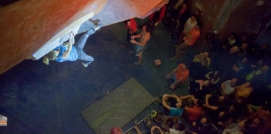 A picture from Antrebloc by Globe Climber