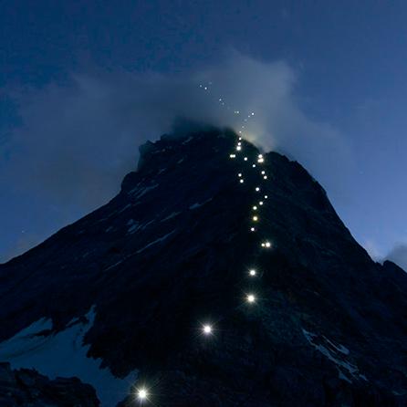 A picture from Matterhorn by Mammut