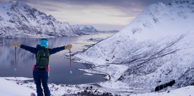 A picture from Lofoten Islands by GORE-TEX® Products