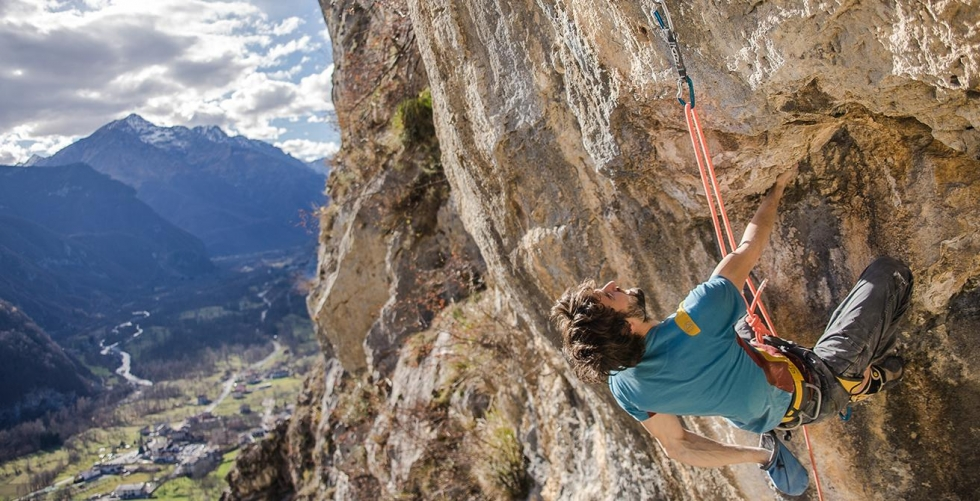AN APPOINTMENT WITH A STORY. REFFO CLIMBS NOIA in Andonno