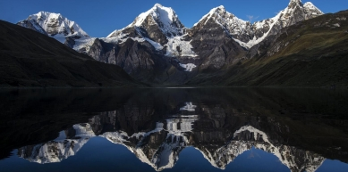 A picture from Jirishanca, Cordillera Huayhuash, Andes by Vörös Tomi