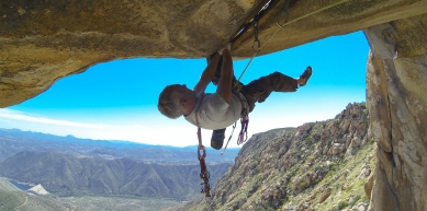 A picture from El Cajon Mountain by Maxim Ropes