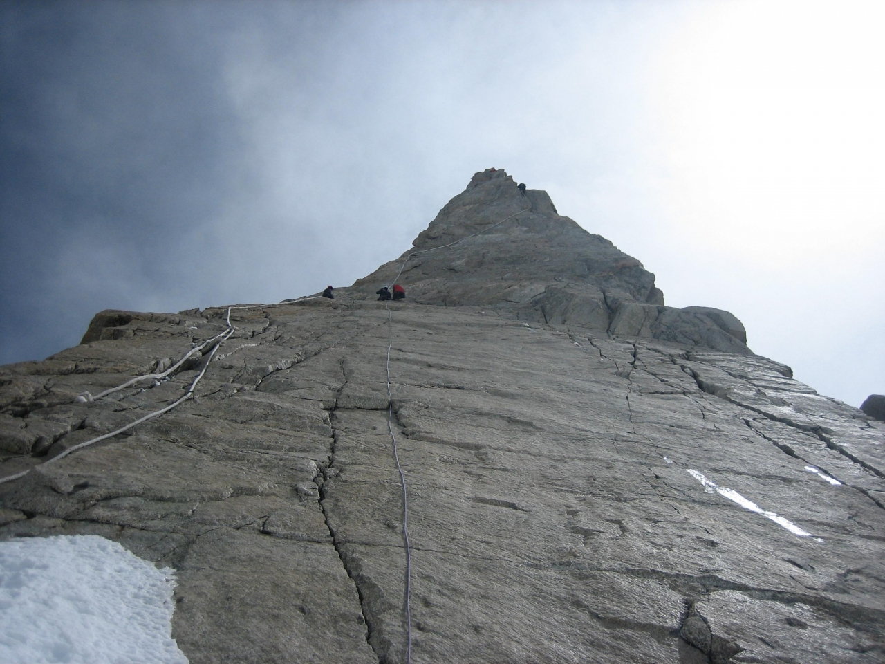 A picture from Dent du Géant / Dente del Gigante by Christian Fontaine