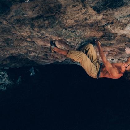 Secret Cave by Clemens Arndt