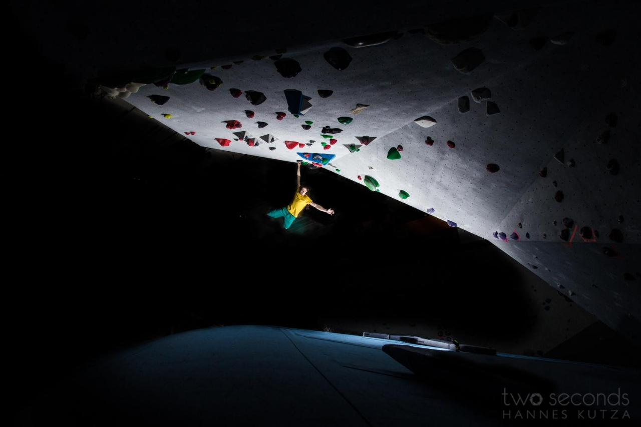 A picture from Berta Block Boulderhalle by hannes kutza