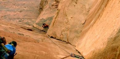 A picture from Wadi Rum, Jordan by Lory Carpano