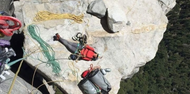 A picture from Yosemite by Escaladoras .