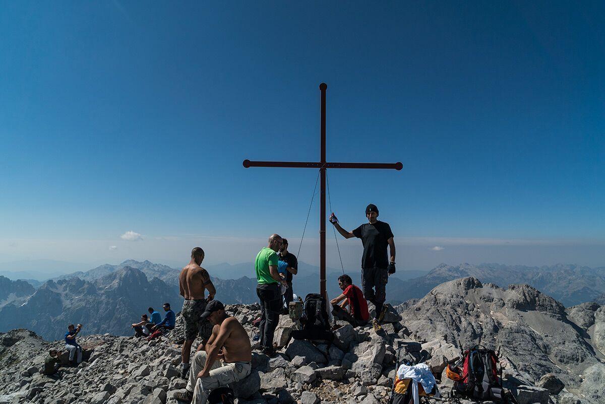 A picture from Jezerski vrh / Maja Jezercë by Aleksandar Putnikovic