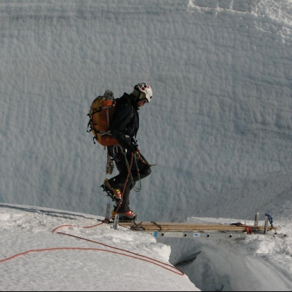 Disapointment Cleaver, Mt Rainier by MSR / Mountain Safety Research