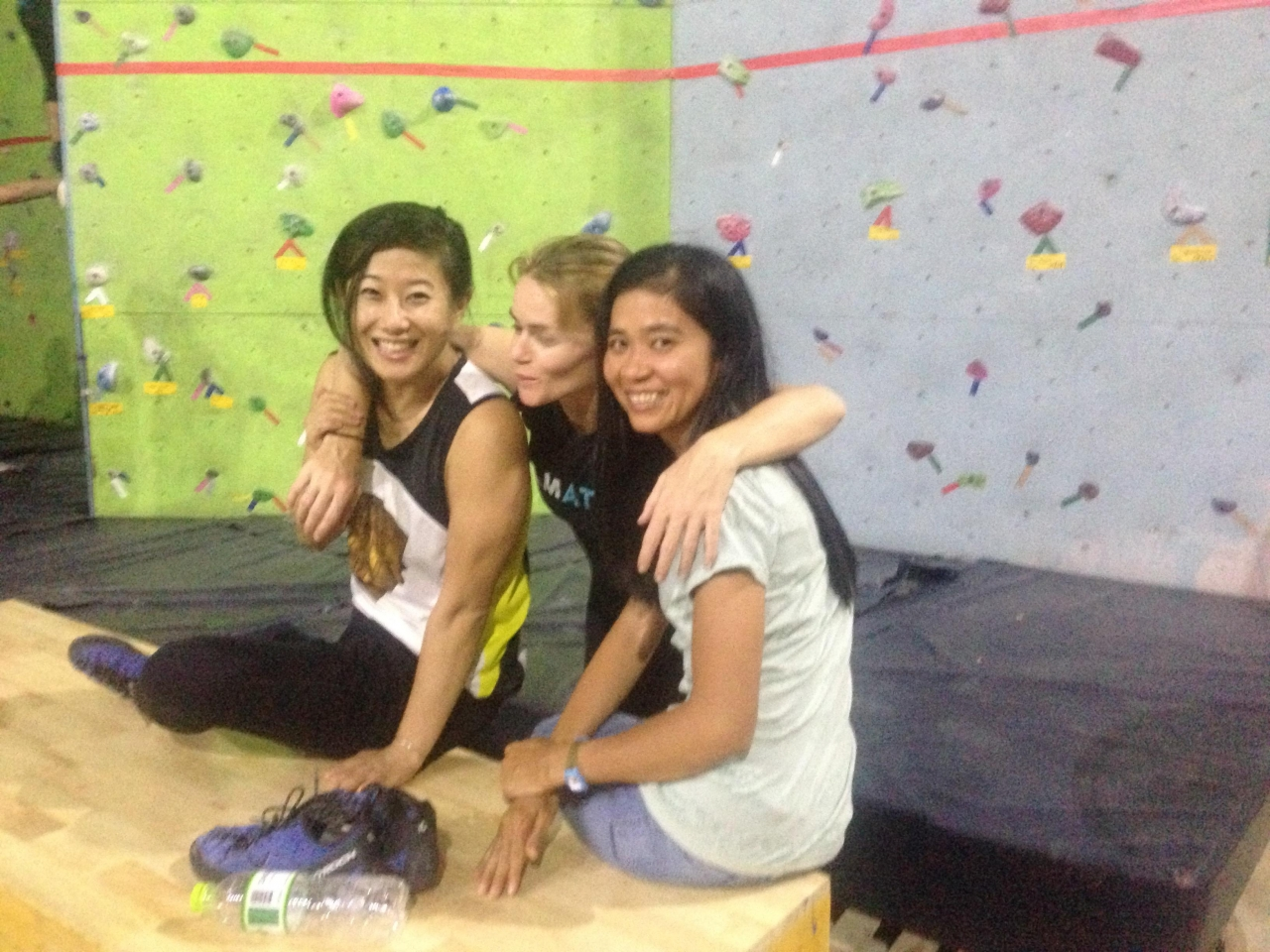 A picture from Phnom Penh Climbing Gym by Christoph Lüthy