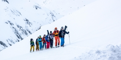 A picture from Andermatt by Dynafit