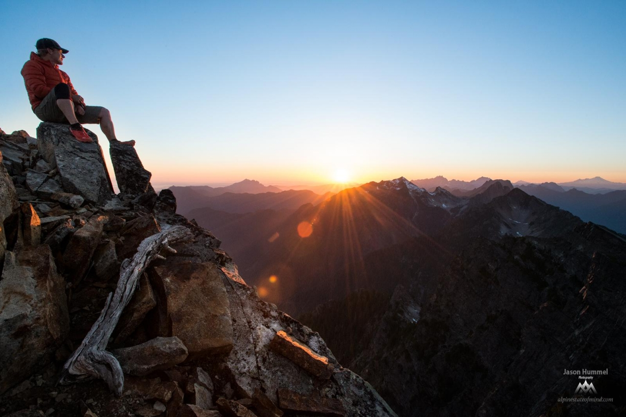 A picture from North Cascades National Park by MSR / Mountain Safety Research