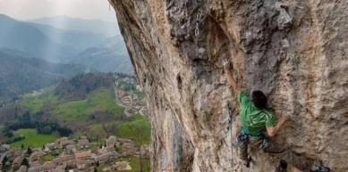A picture from Cornalba by La Sportiva
