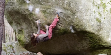 A picture from Fontainebleau by La Sportiva