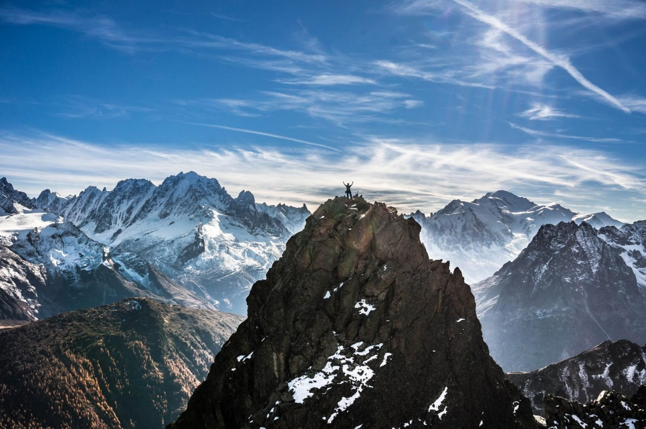 A picture from Perrons de Vallorcine by Sylvain Mauroux