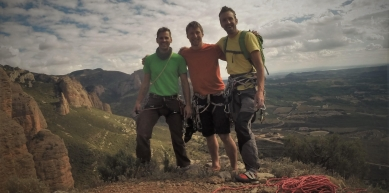 A picture from Mallos de Riglos by Jase Wilson