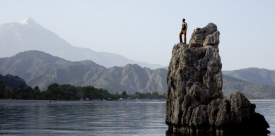 A picture from Olympos by LOWA