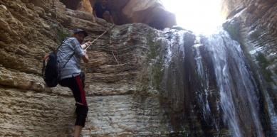 Wadi al-dba-Dead sea/Jordan