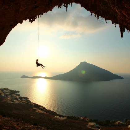 Kalymnos - Grande Grotta by BW Pictures