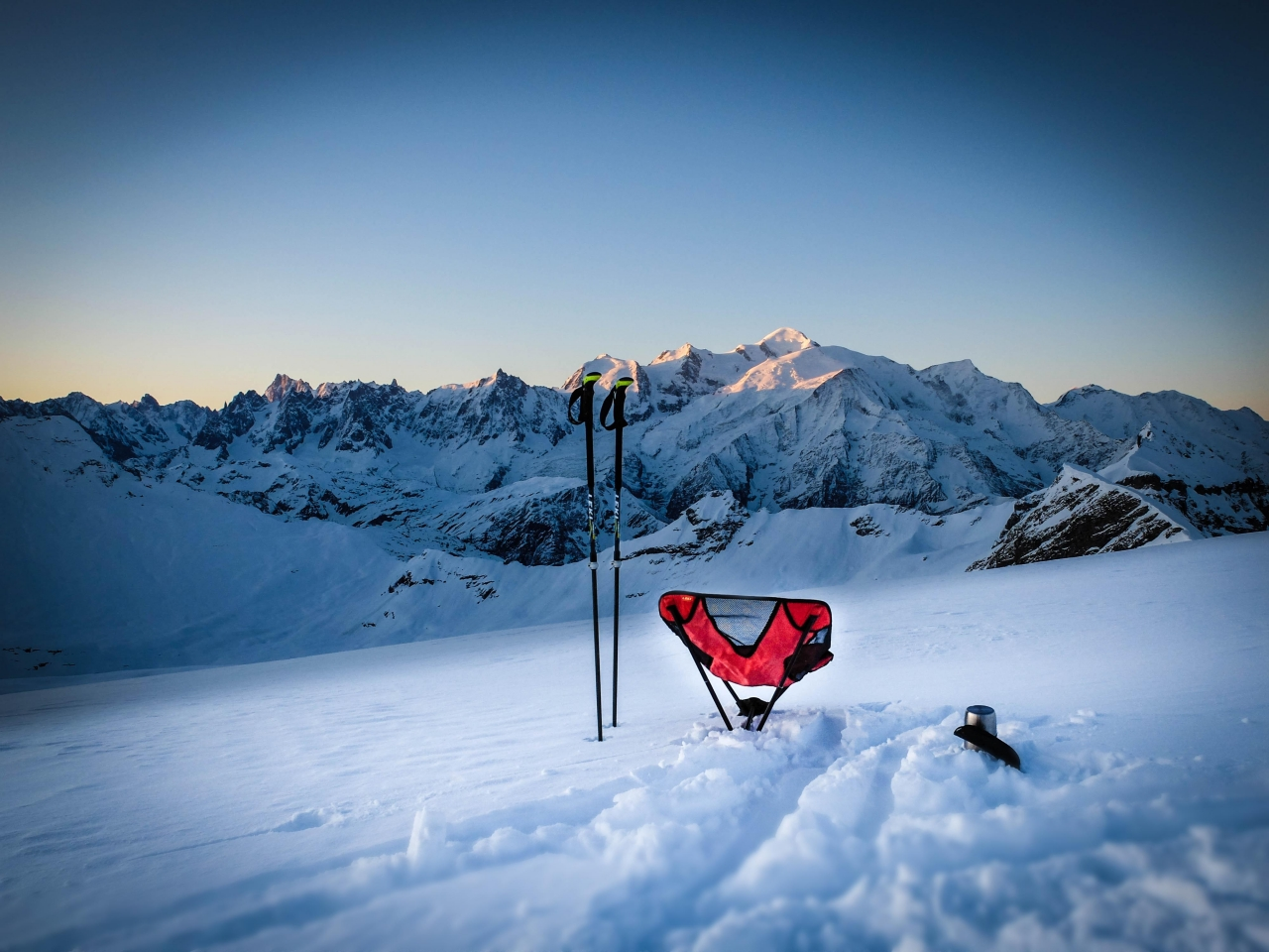 A picture from Mont Blanc / Monte Bianco by LEKI