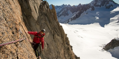 A picture from Mont Blanc du Tacul by Jan Zahula