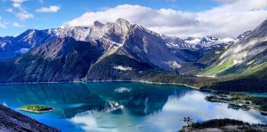 A picture from Mount Indefatigable, Kananaskis, AB, Canada by David Kay