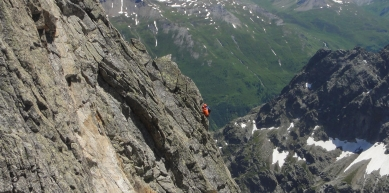 A picture from Aiguilles Rouges de Triolet by Christian Fontaine