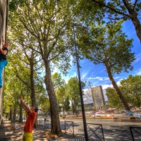 Paris Bercy by Globe Climber