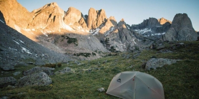 A picture from Wind River Range by MSR / Mountain Safety Research