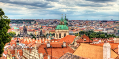 A picture from Prague by Globe Climber