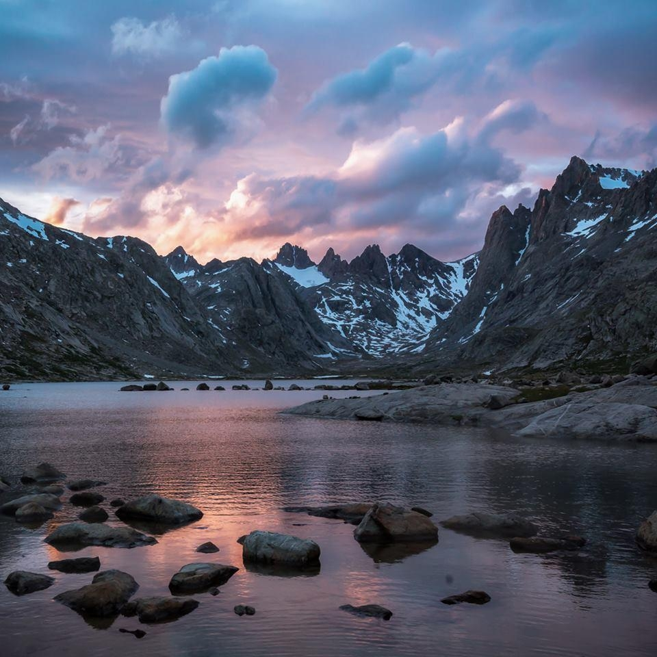 A picture from Wind River Range by Black Diamond