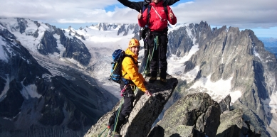 A picture from Aiguille du Moine by Explore-Share