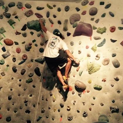 Joe Rockhead\'s Indoor Rock Climbing by Isaac Sacson