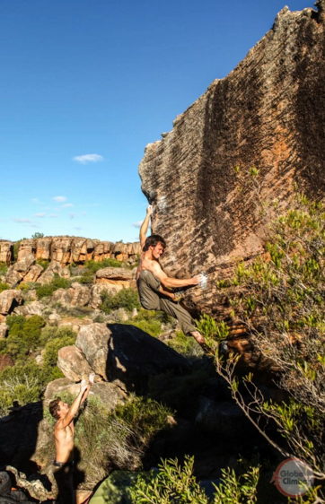 A picture from Rocklands by Globe Climber