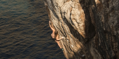 A picture from Sa Calobra by Benjamin Weber