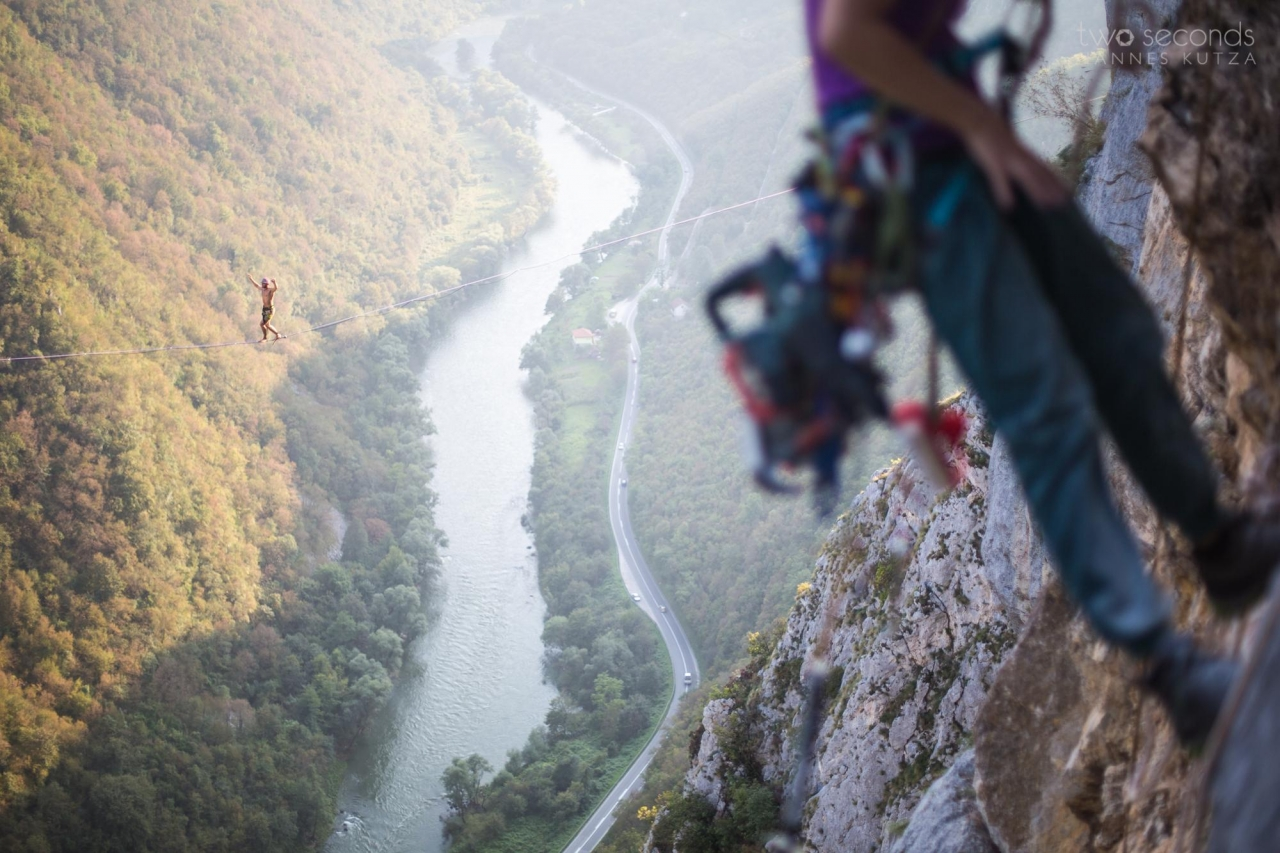 A picture from Tijesno Canyon / Bosnia and Herzegovina by hannes kutza
