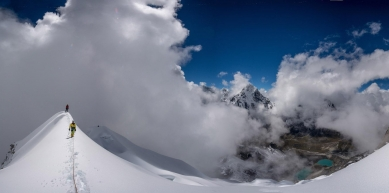 A picture from Lobuche east by Jan Zahula