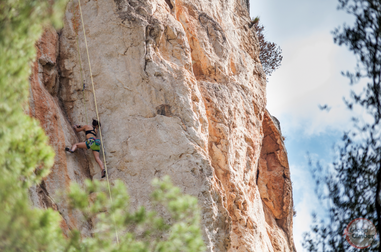 A picture from Sa Gubia, Mallorca by Globe Climber