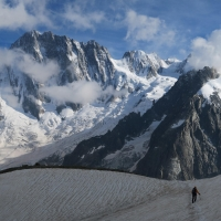 Grandes Jorasses by Explore-Share