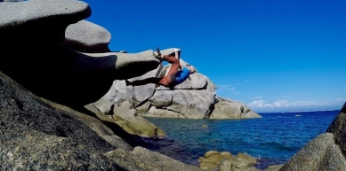 A picture from Capo Testa by Phil Grassi