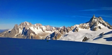 A picture from Mont Blanc / Monte Bianco by Deborah Bionaz
