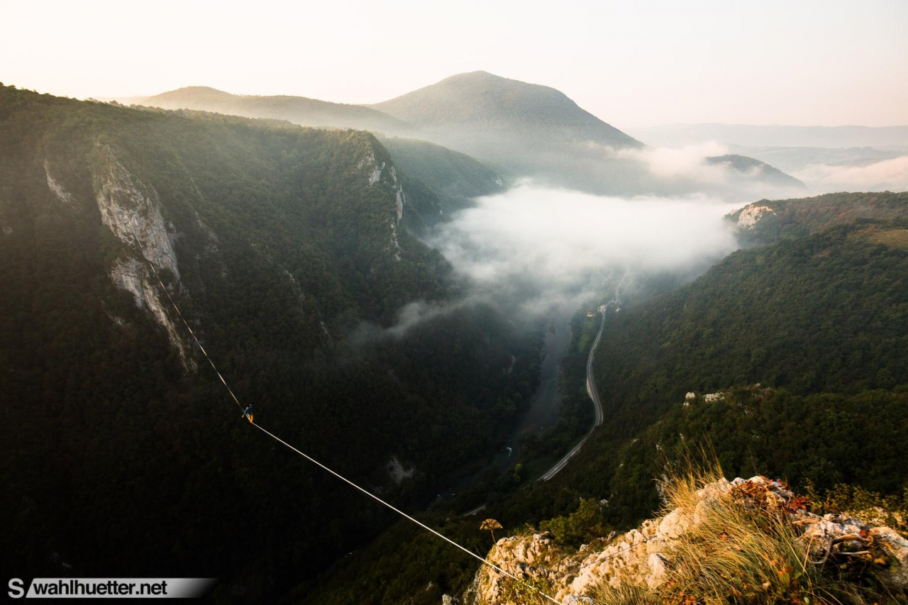 A picture from Tijesno Canyon / Bosnia and Herzegovina by Sebastian Wahlhuetter