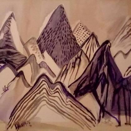 Everest Region by Ilina Arsova
