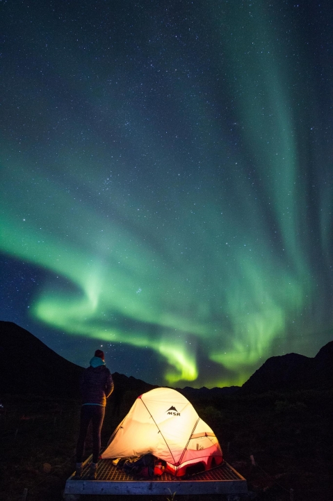 A picture from yukon by MSR / Mountain Safety Research