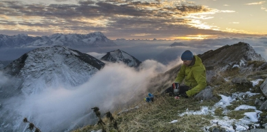 A picture from Under the Roof by MSR / Mountain Safety Research