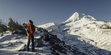 A picture from Mt. Hood by MSR / Mountain Safety Research