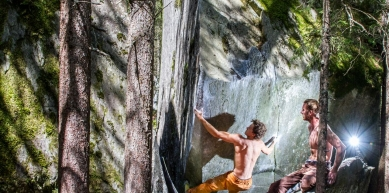 A picture from Magic Wood by KIOT Klettern in Osttirol