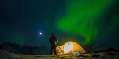 A picture from Denali / Mt. McKinley by MSR / Mountain Safety Research