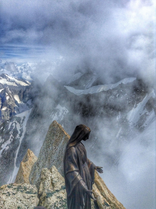 A picture from Dent du Géant / Dente del Gigante by Reds Tom